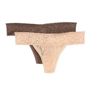 Felina Lace Thong - Pack of 2